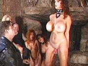 Der Titten Meister quält jede Sklavin